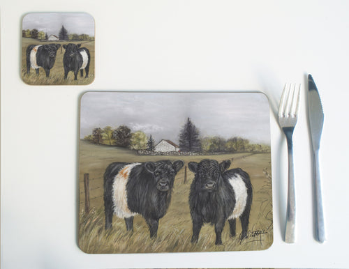 Belted Galloway Placemat