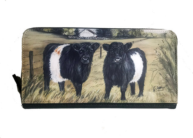 Belted Galloways Zipped Purse