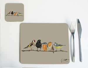 Birds in Row Placemat