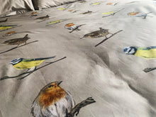 Cotton Garden Birds Duvet Cover & 2 Pillow Cases