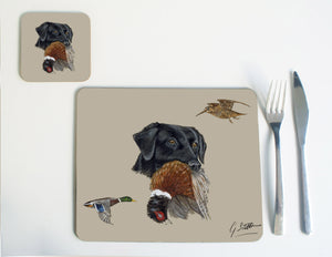 Black Labrador Placemat