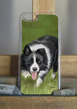 Working Collie Phone Case
