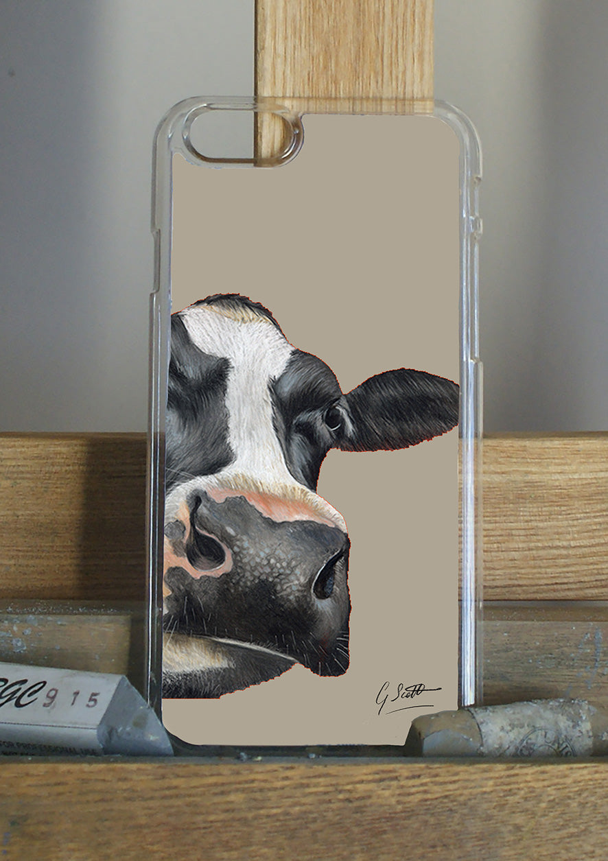 Friesian Cows Head Phone Case