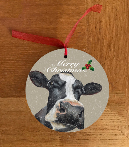 Friesian Cows Head Hanging Decoration