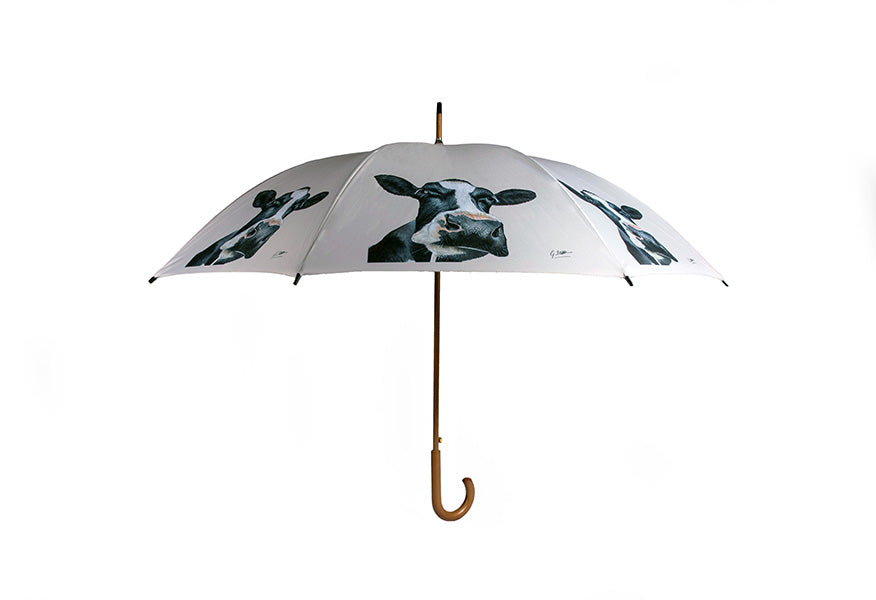 Stag In Grass Umbrella