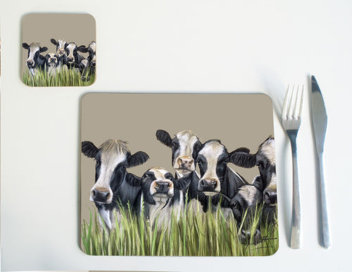 Cows through Grass Placemat