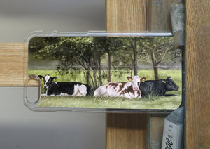 Herd Of Cattle Phone Case