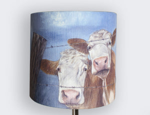 Hereford Cow Lampshade