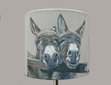 Donkeys over Gate Lampshade