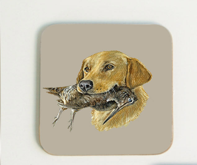 Golden Labrador Coaster