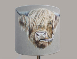 Highland Cow Lampshade