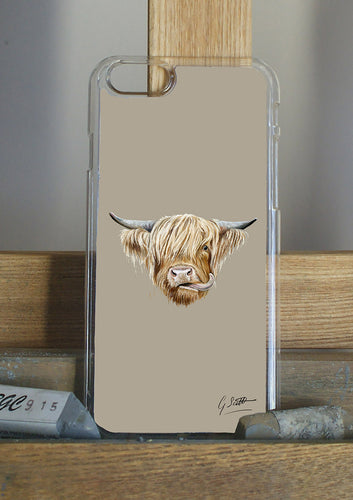 Highland Cow Phone Case