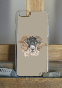 Sheep Head Phone Case