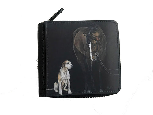 Horse And Hound Small Luxury Purse