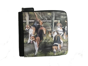 Hounds Hunting Small Luxury Purse