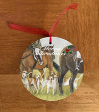 Horse and Hounds Hanging Decoration
