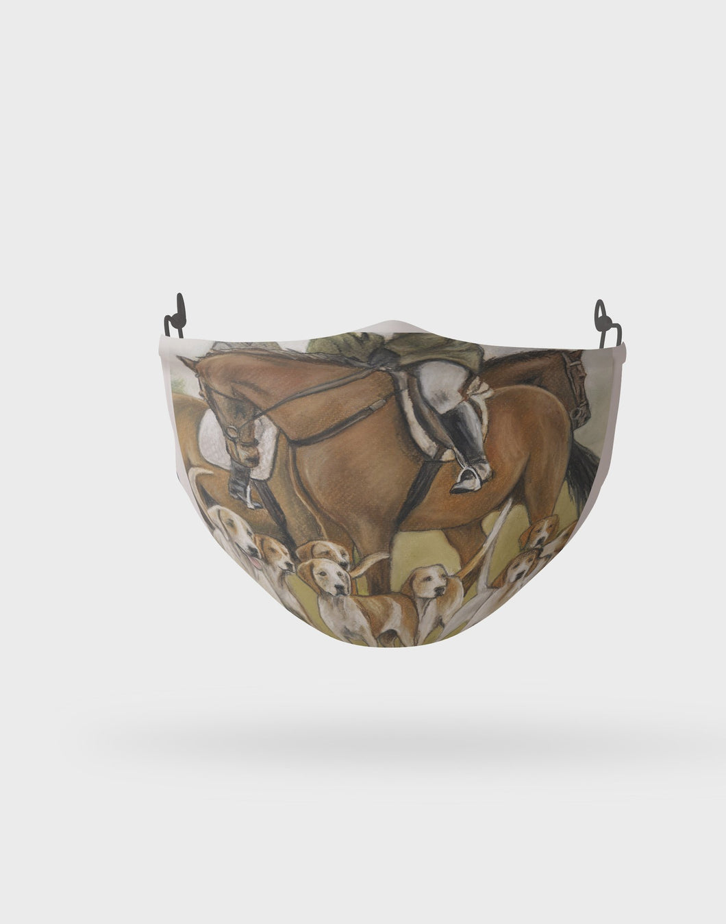 Hunting Scene Children's Face Mask