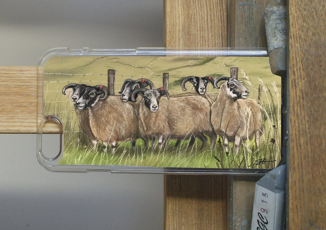 Flock Of Sheep Phone Case