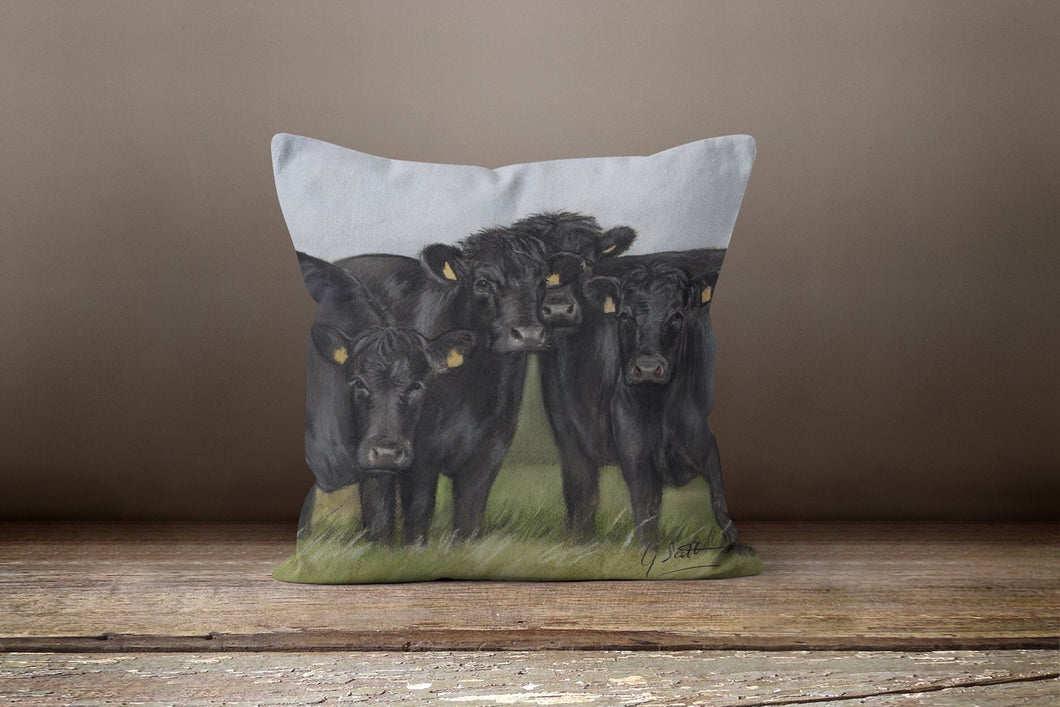 Aberdeen Angus Square Cushion
