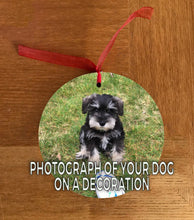 Personalised (Your Photo) Christmas Hanging Decoration