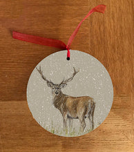Deer Through Grass Hanging Decoration