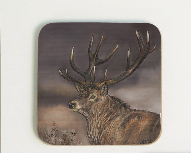 New Stag Coaster