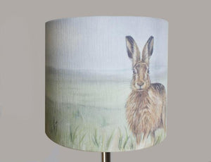 Hare in Mist Lampshade