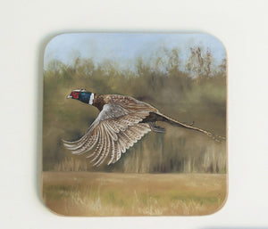 Pheasant Flying Coaster