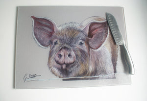 Pig Farming Themed Worktop Saver