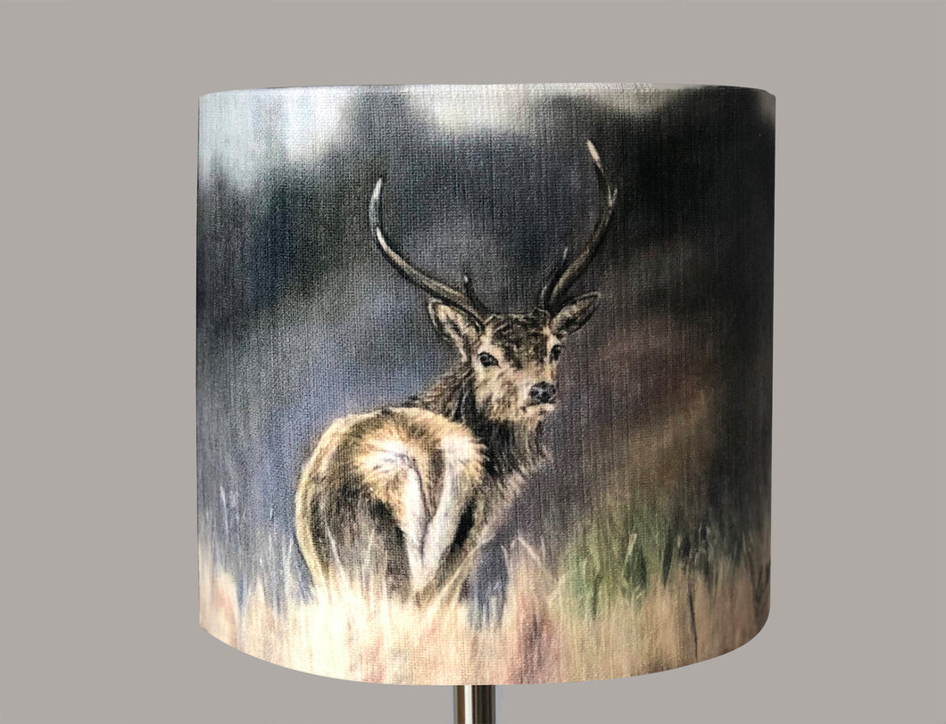 Stag in Woods Lampshade