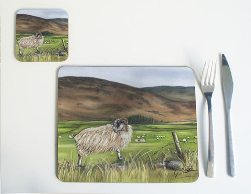 Sheep in Mountains Placemat