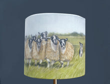 Sheep with Collie Lampshade