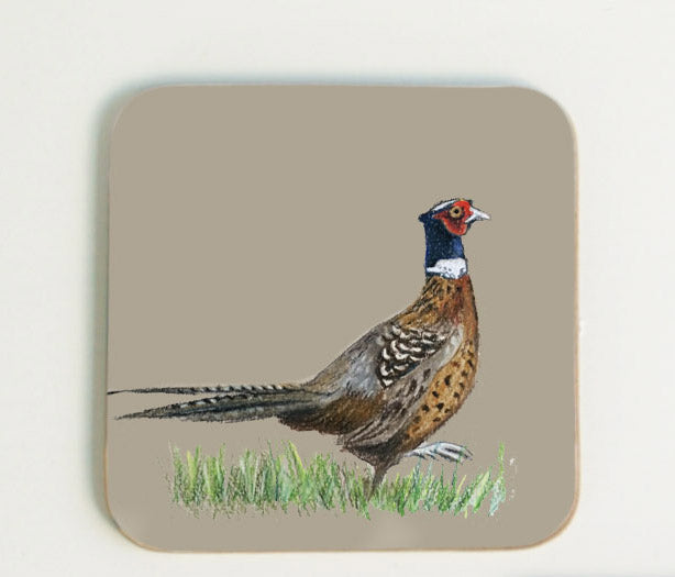 Single Pheasant Coaster