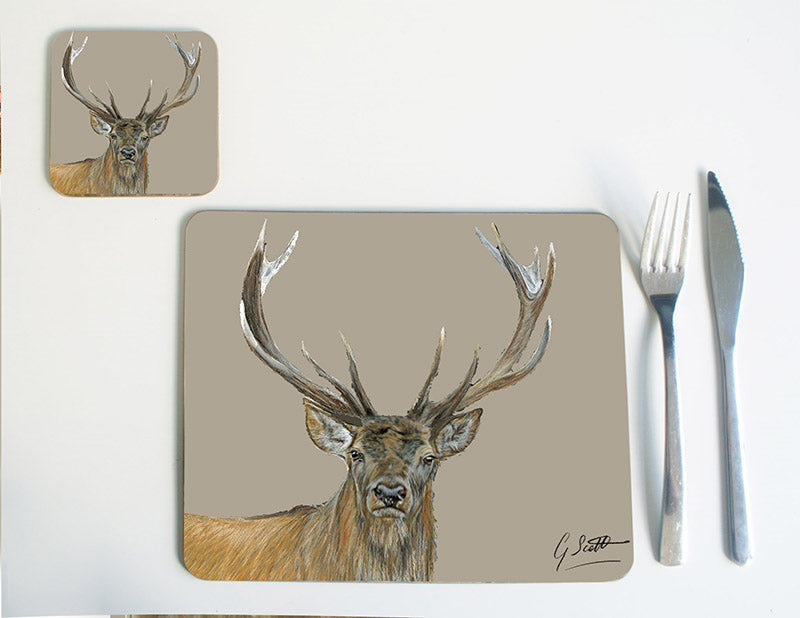 Stags Head Placemat