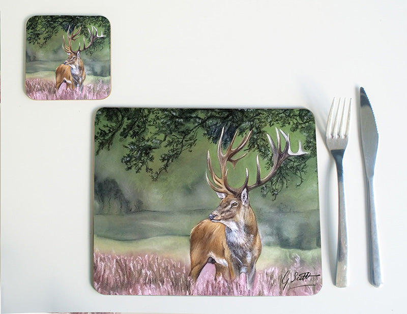 Stag in Heather Placemat