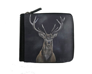 Stags Head Small Luxury Purse