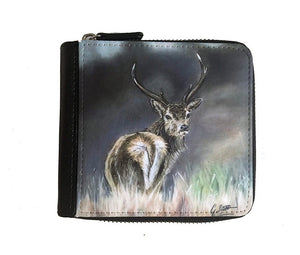 Stag through Heather Small Luxury Purse