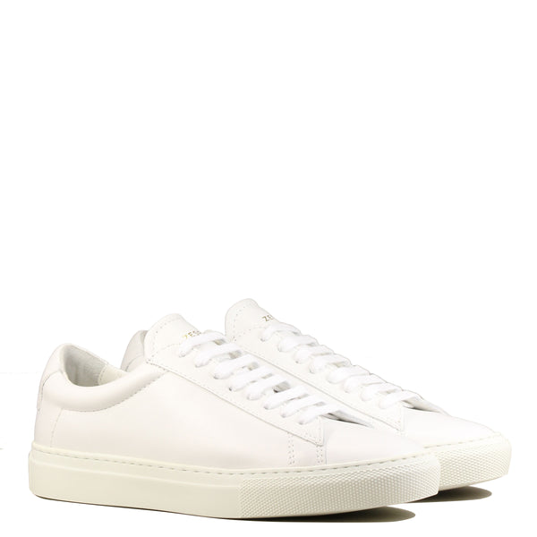Sneakers blanches Zespà Zsp4 High Nappa White