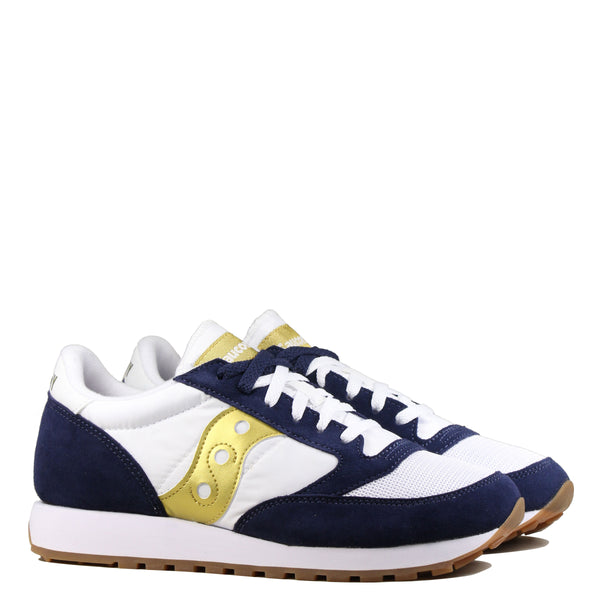 Saucony Jazz Original White Navy Gold