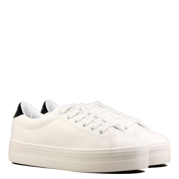 No Name Plato Sneaker White Black