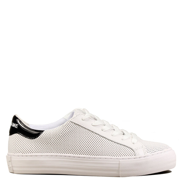 No Name Arcade Sneaker Punch Nappa White