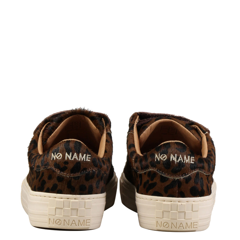 No Name Arcade Straps Pony Leopard Nuts
