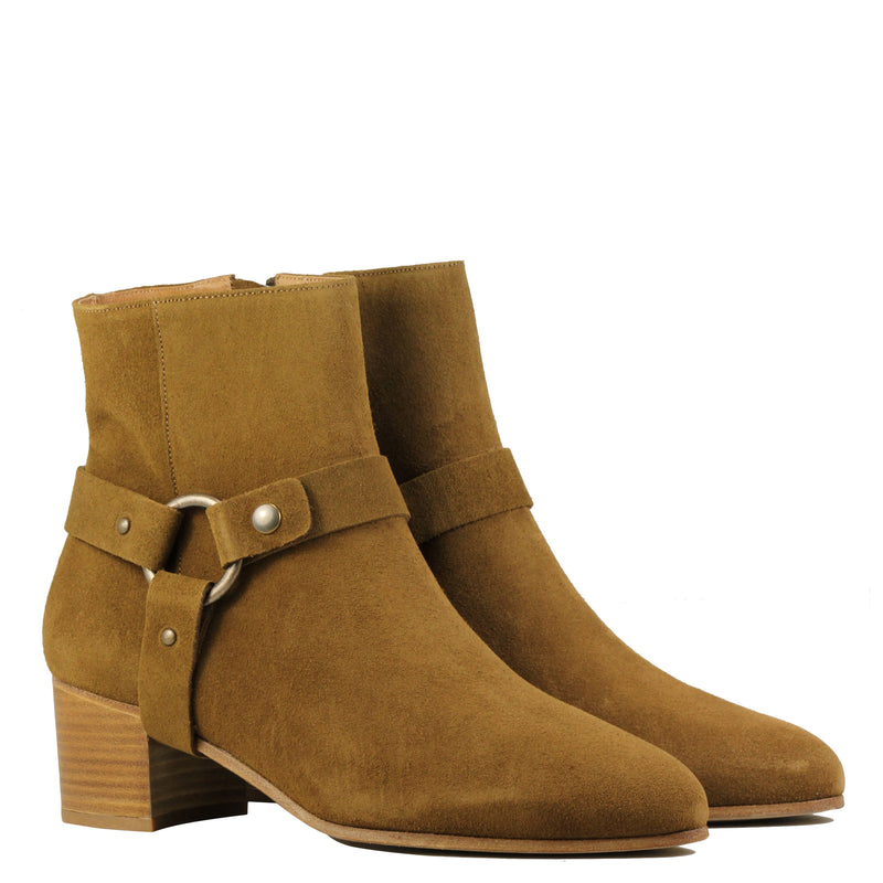 Sessun Fort Graham Tobacco Suede