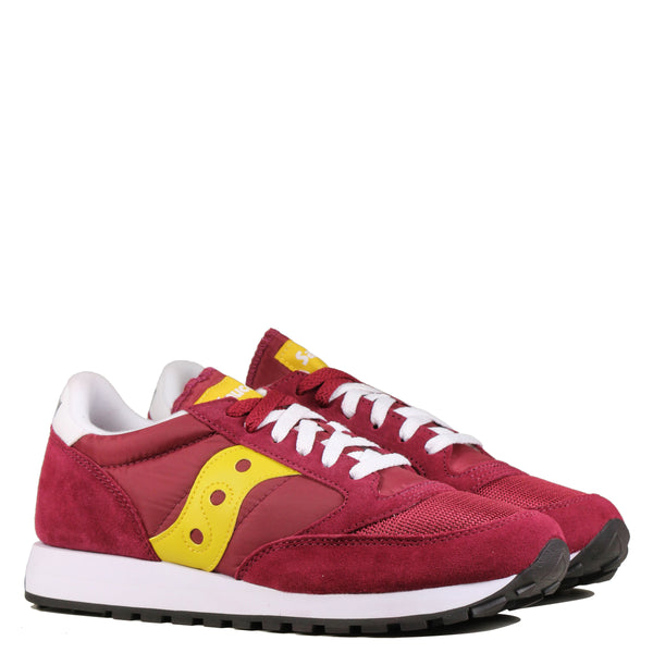 Saucony Jazz Original Maroon Yellow