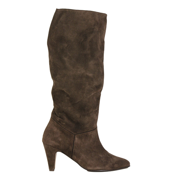 Anonymous Jasmina 75 Stiletto Suede Coffee