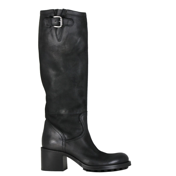 Boots motardes Strategia P863 Boston Nero
