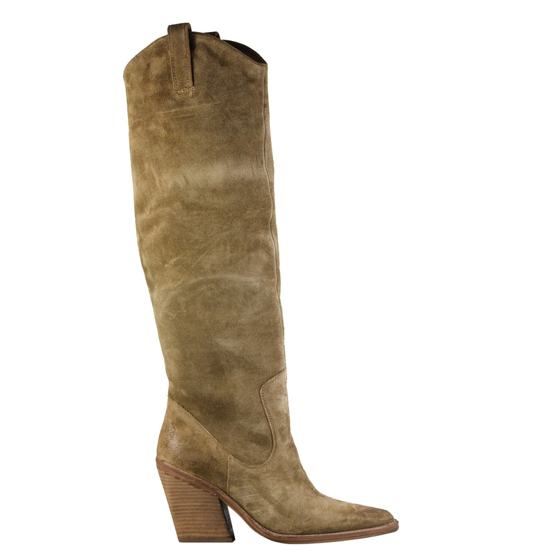 Bronx New Kole High Suede Camel