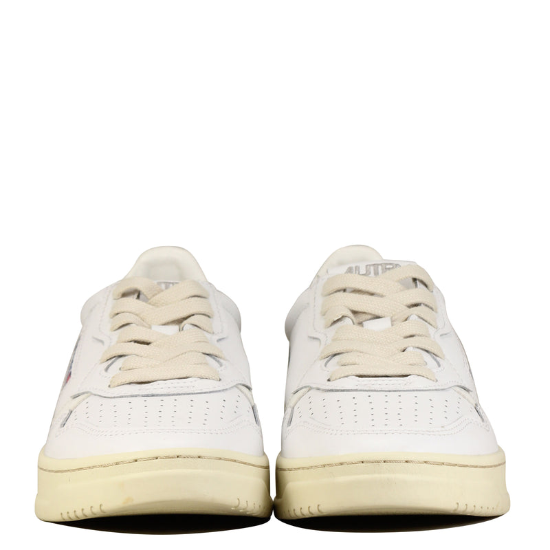 Autry Action Shoes 01 Low W Leather All White