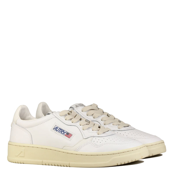 Autry Action Shoes 01 Low M Leather All White