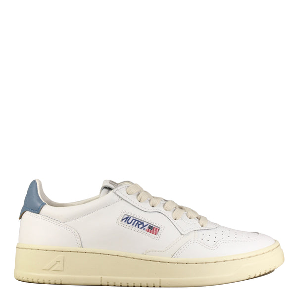 Autry Action Shoes 01 Low M Leather White Navy